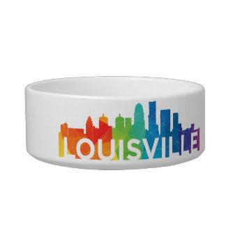 Louisville Pride Dog Bowls