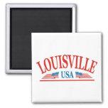 Louisville Refrigerator Magnet