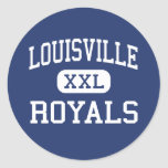 Louisville - Royals - alta - Woodland Hills Etiquetas Redondas