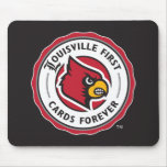 Louisville Seal - Louisville First Cards Forever Mouse Pad