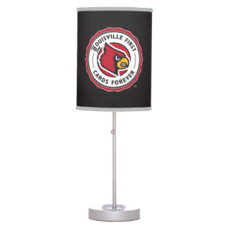 Louisville Seal - Louisville First Cards Forever Table Lamp