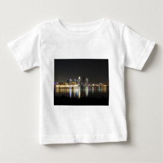 Louisville skyline at night baby T-Shirt