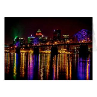 Louisville Skyline Card