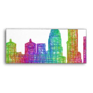 Louisville skyline envelope