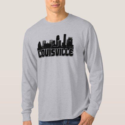 Louisville skyline t shirt zazzle for Louisville t shirt printing