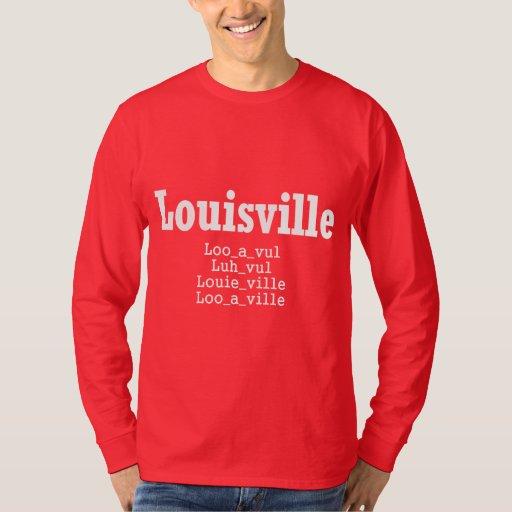 Louisville t shirt zazzle for Louisville t shirt printing