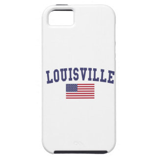 Louisville US Flag iPhone SE/5/5s Case