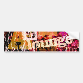 Lounge Bumper Sticker