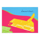 """Lounge by the Pool Party Invitation 5"""" X 7"""" Invitation Card"""