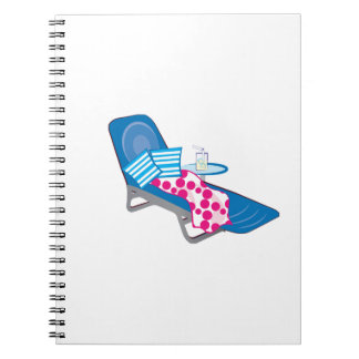 Lounge Chair Spiral Notebooks