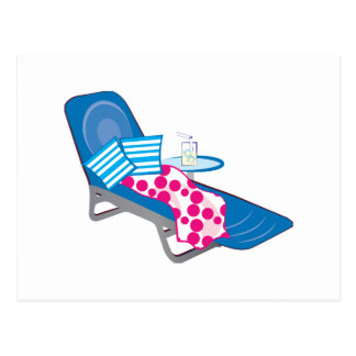 Lounge Chair Postcard