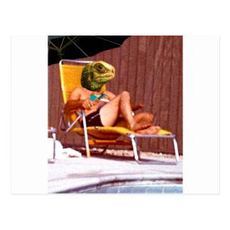 Lounge Lizard Chair Postcard