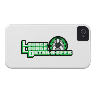 Lounge Lounge Drink a beer Case-Mate iPhone 4 Case