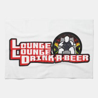 Lounge Lounge Drink A Beer Gaming Parody  Towels