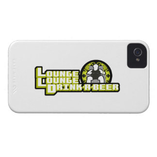 Lounge Lounge Drink a beer iPhone 4 Case