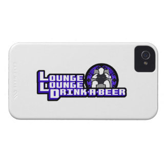 Lounge Lounge Drink a beer iPhone 4 Cover