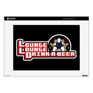 Lounge Lounge Drink a Beer Laptop Skin