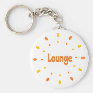 Lounge orange keychain