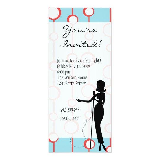Lounge Singer Card