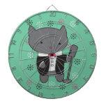 Lounge Singer Cat Dart Board