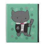Lounge Singer Cat iPad Folio Cases