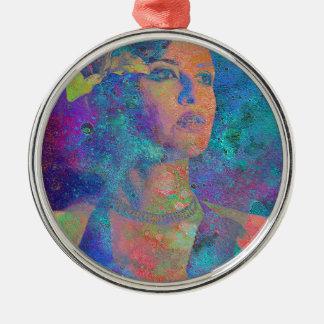 LOUNGE SINGER.jpg Metal Ornament