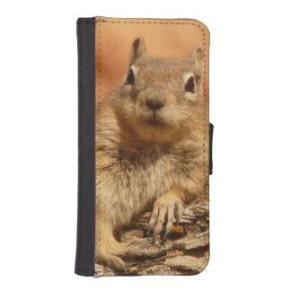 Lounging Chipmunk iPhone 5 Wallet Case