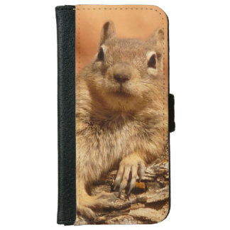 Lounging Chipmunk iPhone 6 Wallet Case