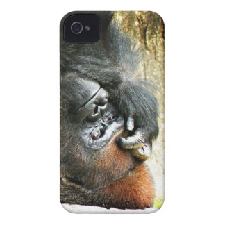 Lounging Gorilla iPhone 4 Barely There Case
