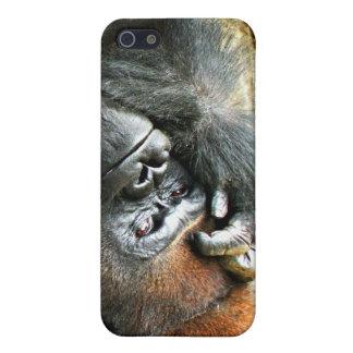 Lounging Gorilla iPhone 4 Case