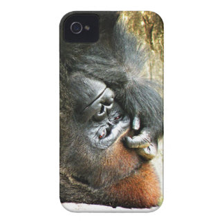Lounging Gorilla iPhone 4 Case-Mate ID iPhone 4 Cover