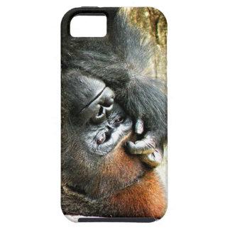Lounging Gorilla iPhone 5 Case-Mate Tough Case
