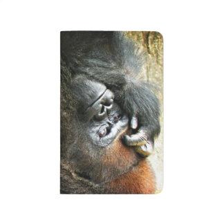 Lounging Gorilla Pocket Journal