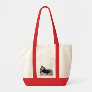 lounging high rez tote bag