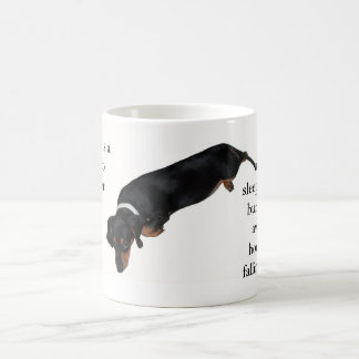 Lounging Hound Quote Mug