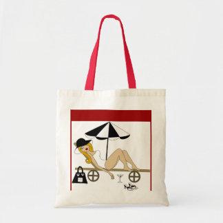 Lounging Jane Tote Bag