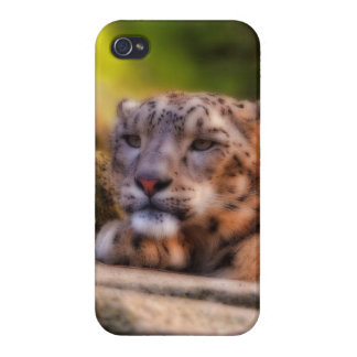 Lounging Leopard iPhone 4 Covers