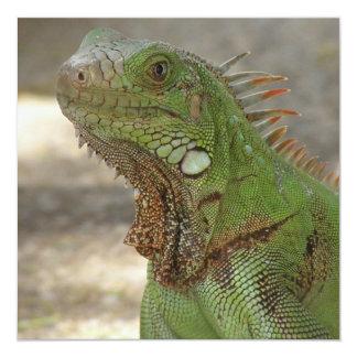 Lounging Lizard Invitation