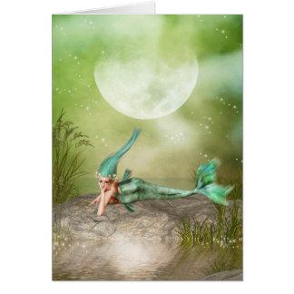 Lounging Mermaid Cards
