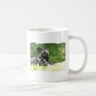 Lounging Wild Dog Coffee Mug