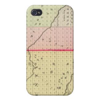 Loup, Blaine, Custer, and Logan County, Nebraska iPhone 4 Cases