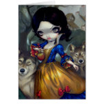 """Loup-Garou: Blanche Neige"" Greeting Card"