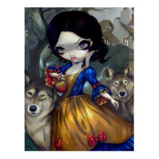 """""""Loup-Garou: Blanche Neige"""" Postcard"""