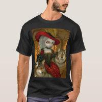 Loup-Garou d'Automne - gothic wolf Rococo shirt