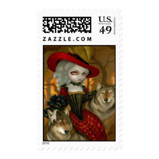 """Loup-Garou:  d'Automne"" Stamp"