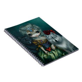 """Loup-Garou:  La Grande Prêtresse"" Notebook"