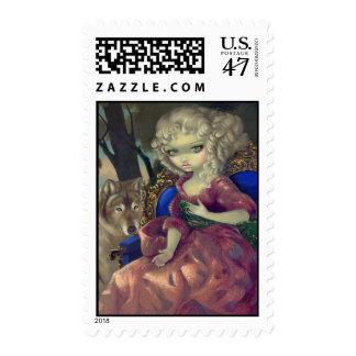 """Loup-Garou:  L'Aube"" Stamp"