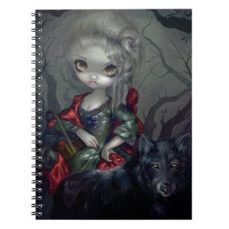 """Loup-Garou: Le Petit Chaperon Rouge"" Notebook"