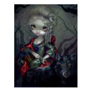 """Loup-Garou: Le Petit Chaperon Rouge"" Postcard"