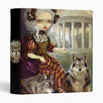 artsprojekt, loup-garou, loup, garou, temple, temple of love, versailles, richard, mique, marie, antoinette, marie antoinette, versaille, petit, trianon, garden, france, rococo, wolf, wolves, werewolf, werewolves, wolfdog, princess, roccoco, dog, dogs, french, vampire, vampires, doll, art, fantasy, eye, eyes, big eye, big eyed, jasmine, becket-griffith, becket, Fichário com design gráfico personalizado